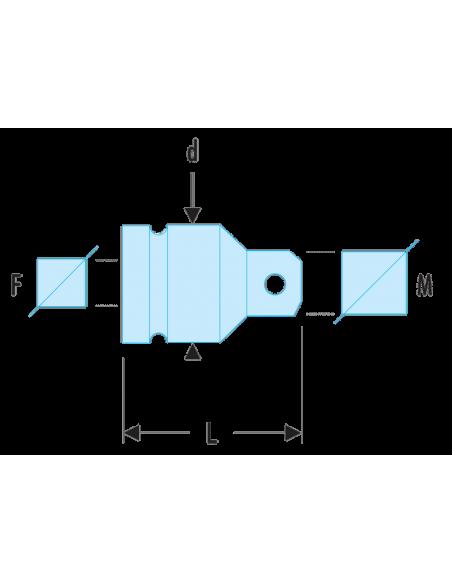 """Augmentateur impact 1""""1/2 à 2""""1/2 - NG.232A - Facom"""