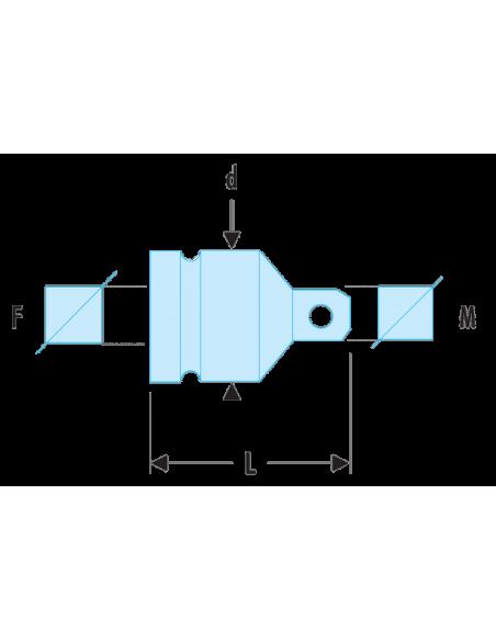 """Augmentateur impact 1/2"""" à 3/4"""" - NS.232B - Facom"""