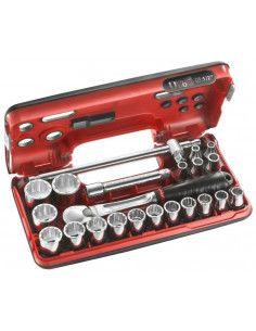 """Coffret DBOX douilles 1/2"""" 12 pans métriques - SL.DBOX412 - SL.DBOX412 - Facom"""