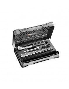 """Coffret douilles 1/2"""" 12 pans métriques - 15 pièces - S.151-1P12 - S.151-1P12 - Facom"""