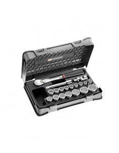 """Coffret douilles 1/2"""" 12 pans métriques - 19 pièces - SL.161-2P12 - SL.161-2P12 - Facom"""