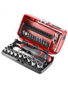 """Coffret douilles 1/4"""" 12 pans en pouces - RL.NANO-U112 - RL.NANO-U112 - Facom"""