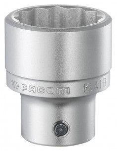 """K.B - Douilles 3/4"""" 12 pans métriques - K.46B - Facom"""