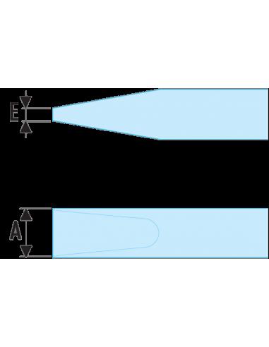 A.VE - Tournevis PROTWIST® isolés 1000 Volts pour vis à fente - A2,5X50VE - Facom