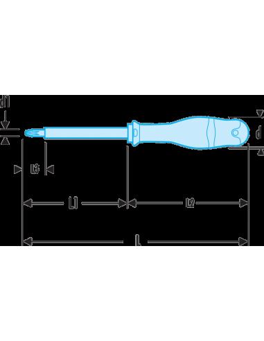 Facom AP0X75VE Protwist Tournevis cruciforme isol/é