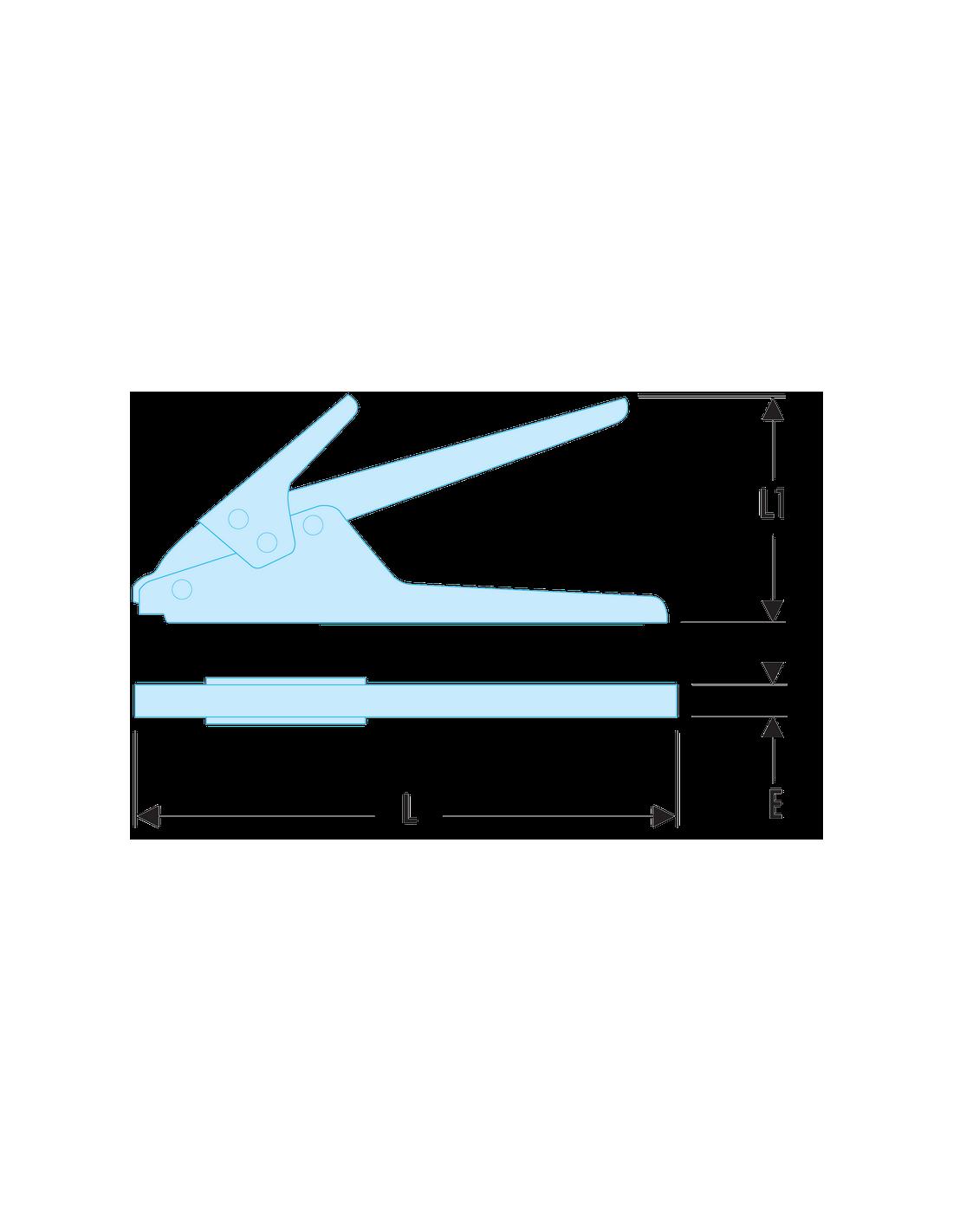 Facom Pince pour colliers plastiques Facom 455B 455B
