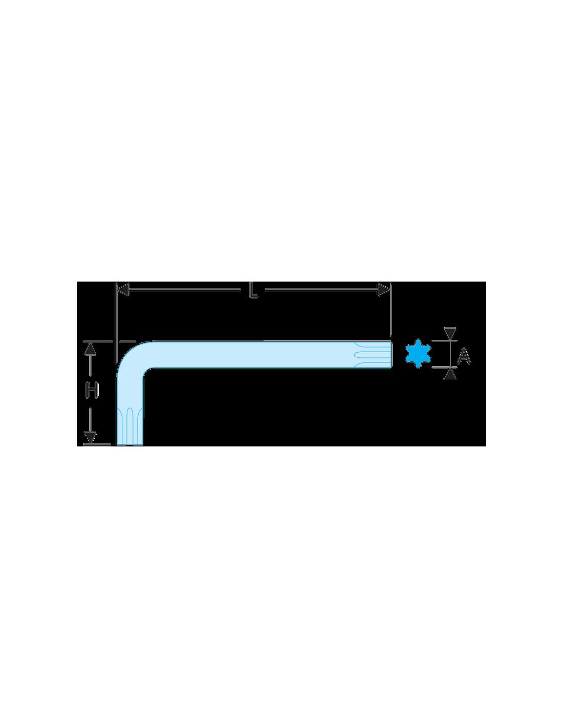 Facom-89,4 courte m/âle torx 40