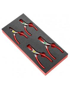 Module mousse 4 pinces pour Circlips® - MODM.PCSN - Facom