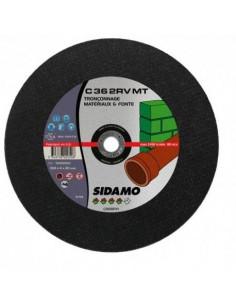 10 disques à tronçonner plat - D.300 x 4 x 22,23 mm C36 2RV MT- Fonte/Matériaux - 10602051 - Sidamo