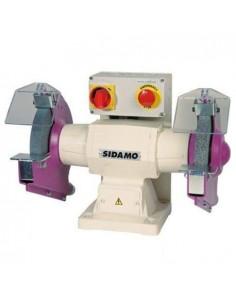 Touret à meuler 126 D. 200mm - 400V 750W - 20113004 - Sidamo