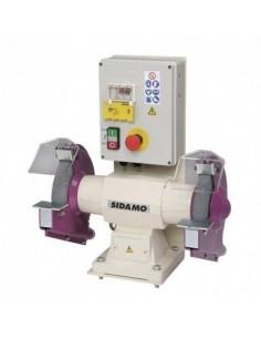 Touret à meuler avec frein 126 FR D. 200 mm - 400V 750W - 20113034 - Sidamo