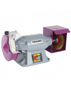 Touret meule - brosse TM 150 B D. 150 mm - 230V 520W - 20113102 - Sidamo
