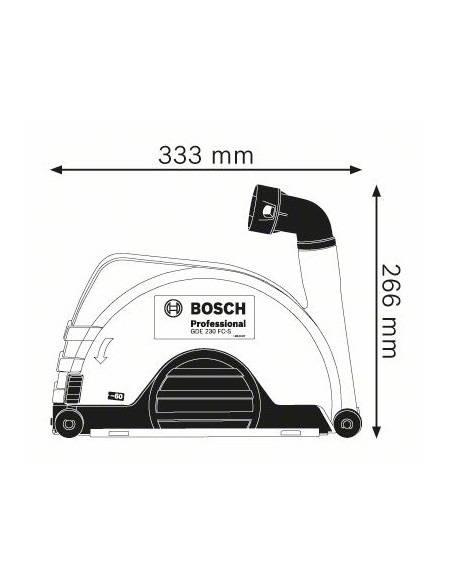 Système d'aspiration de poussière GDE 230 FC-S - Bosch