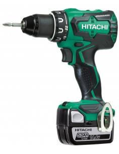 Perceuse visseuse sans fil 14 V - 5.0 Ah DS14DBSL5A - Hikoki Hitachi