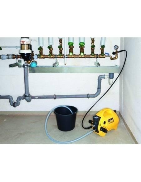 Pompe d'épreuve électrique E-Push 2 - 115500 R220 - REMS