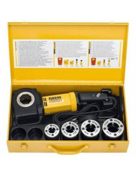 """Filière électrique Amigo Set R 1/2-3/4-1-1 1/4"""" - 530020 R220 - REMS"""