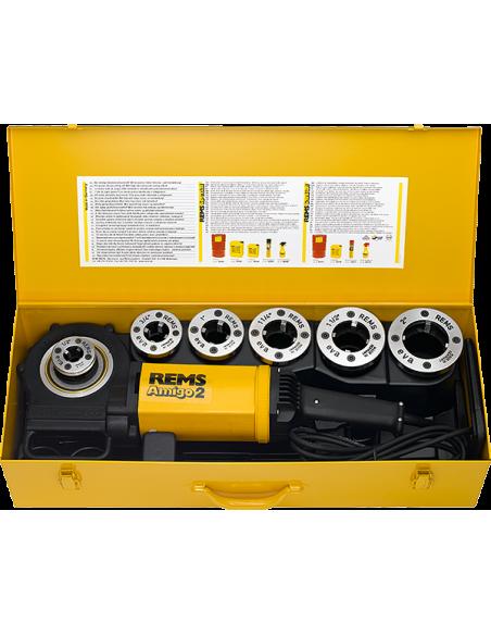 """Filière électrique Amigo 2 Set R 1/2 - 2"""" - 540020 R220 - REMS"""