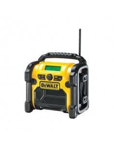Radio compacte sur secteur ou batteries XR 10.8V, 14.4V et 18V Li-Ion - sans batterie ni chargeur - DCR019 - Dewalt