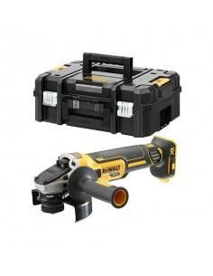 Meuleuse XR 18V Brushless 125mm - sans batterie ni chargeur - coffret TSTAK - DCG405NT - Dewalt