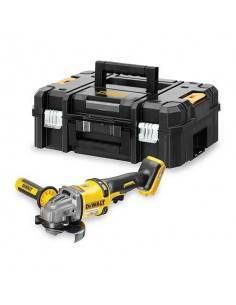Meuleuse XR FLEXVOLT 54V Brushless 125mm - sans batterie ni chargeur - coffret TSTAK - DCG414NT - Dewalt