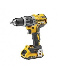 Perceuse visseuse percussion Compact XR 18V 2Ah Li-Ion Brushless - 2 batteries - coffret - DCD796D2 - Dewalt