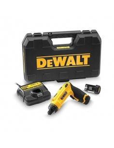 Tournevis gyroscopique XR 7.2V 1Ah Li-Ion - 2 batteries - coffret - DCF680G2 - Dewalt
