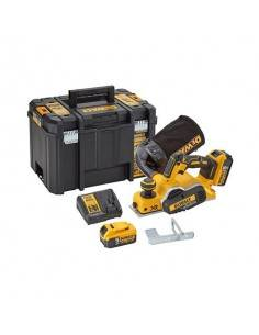 Rabot XR 18V 5Ah Li-Ion Brushless - 2 batteries - coffret TSTAK - DCP580P2 - Dewalt