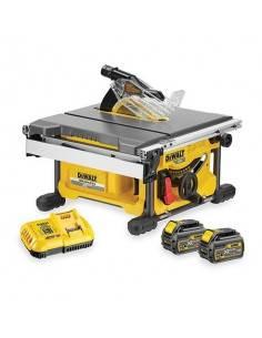 Scie à table XR FLEXVOLT 54V 2Ah Li-Ion Brushless 210mm - 2 batteries - DCS7485T2 - Dewalt