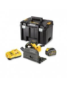 Scie plongeante XR FLEXVOLT 54V 2Ah Li-Ion Brushless - 2 batteries - coffret TSTAK - DCS520T2 - Dewalt