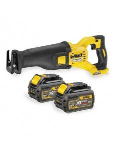 Scie sabre XR FLEXVOLT 54V 2Ah Li-Ion Brushless - 2 batteries - coffret - DCS388T2 - Dewalt