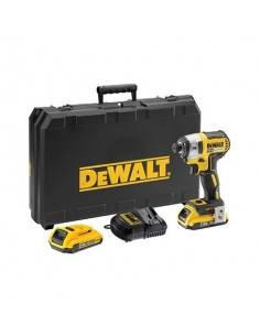 Visseuse à chocs XR 18V 2Ah Li-Ion Brushless - 3 vitesses - 2 batteries - coffret TSTAK - DCF887D2 - Dewalt
