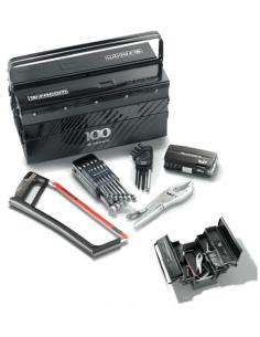 Composition boite a outils métallique 5 cases + outillage édition limitée 100 ans - BT11ACM100Y - Facom