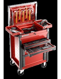 Servante équipée carrosserie + compositions d'outils édition limitée 100 ans - JET.CAR2100Y - Facom