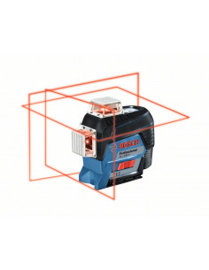 Laser lignes GLL 3-80 C + support BM 1 - 0601063R02 - Bosch