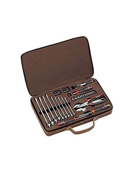 coffret cuir maintenance 48 outils dition limit e 100 ans cm mal. Black Bedroom Furniture Sets. Home Design Ideas