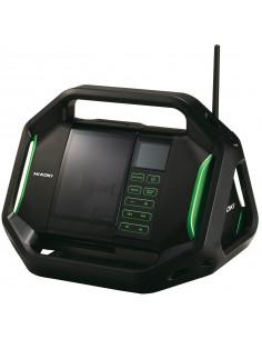 Radio de chantier numérique sur batterie 14,4/18 V - UR18DSALW4Z - Hikoki Hitachi