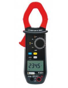 Pince ampèremétrique multimètre F201 TRMS 600AAC - P01120921 - Chauvin Arnoux