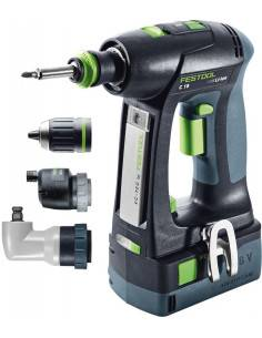 Perceuse visseuse sans fil C 18 Li 5,2-Set - 575672 - Festool