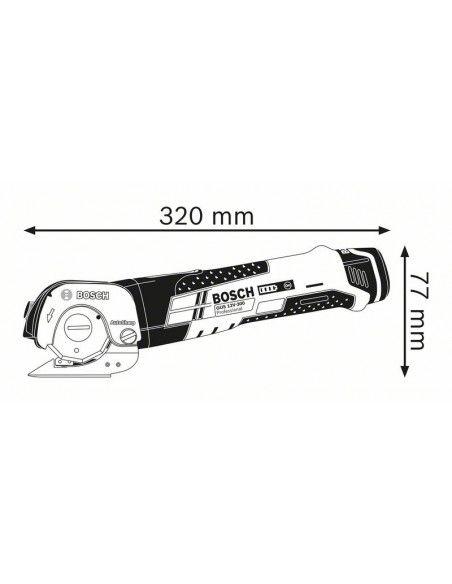 Cisaille universelle sans fil GUS 12V-300 Solo Coffret L-BOXX - 06019B2905 - Bosch