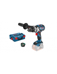 Perceuse-visseuse à percussion sans fil GSB 18V-85 C Solo (connectable) Coffret L-BOXX - 06019G0306 - Bosch