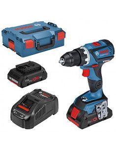 Perceuse-visseuse sans fil GSR 18V-60 C 4Ah ProCORE (connectable) Coffret L-BOXX - 06019G1108 - Bosch
