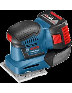 Ponceuse vibrante GSS 18V-10 Solo Coffret L-BOXX - 06019D0202 - Bosch