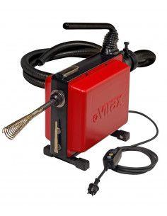 Déboucheur électrique à sections de câble VAL 96QC ø16 et ø22mm - 293130 - Virax
