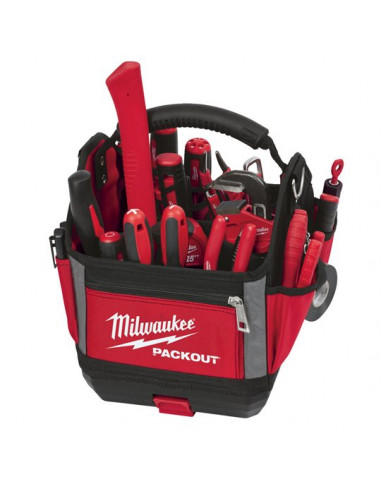 Milwaukee 4932464085 Tote Toolbag 40 cm 31 poches packout travail Case