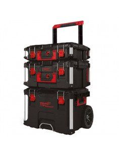 Ensemble Packout 3 pièces Trolley + coffret large + coffret - 4932464244 - Milwaukee