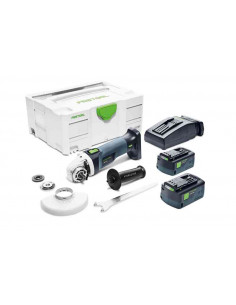 Meuleuse d'angle sans fil AGC 18-125 Li 5.2 EB-Plus - 575344 - Festool