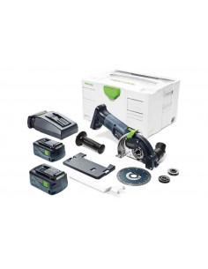 Système de tronçonnage sans fil à main levée DSC-AGC 18-125 FH Li 5,2 EBI-Plus - 575346 - Festool