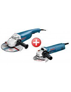 Pack 2 meuleuses GWS 22-230H + GWS 1400 - 0615990EJ0 - Bosch