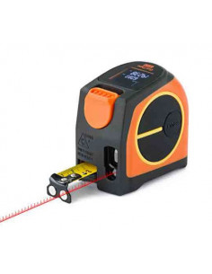 Télèmètre laser avec mètre ruban GeoTape 2in1 | 300710 - Geo Fennel