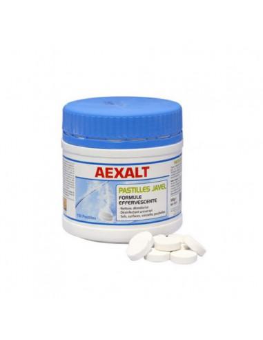 Pastilles javel effervescentes (Pot de 0.5kg 150 pastilles) | PJ072 - Aexalt